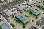 باغ شهرشامل ساختمانهاي دوطبقه باامكانات آموزشي بهداشتي مذهبي