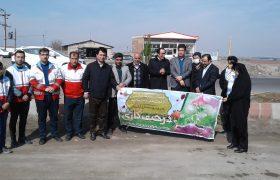 برگزاری آیین درختکاری در ایلخچی با حضور فرماندار شهرستان اسکو