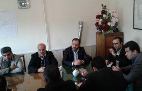 جلسه ساماندهی وضعیت بهداشتی مجتمع مسکونی گلستان ایلخچی برگزار شد