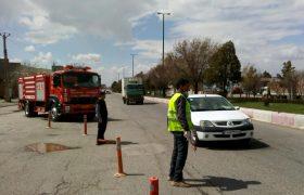 اجرای طرح فاصله گذاری اجتماعی در ایلخچی/ ممنوعیت ورود افراد غیر بومی به شهر ایلخچی