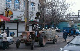 تداوم عملیات ضدعفونی سرویس بهداشتی ها بوستان ها و معابر سطح شهر ایلخچی