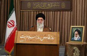 رهبر معظم انقلاب اسلامی در سخنان زنده و تلویزیونی بهمناسبت روز جهانی قدس:عرصه جهاد در همه سرزمینهای فلسطینی گسترش یابد