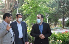 بازدید سرزده فرماندار شهرستان اسکو از شهرداری ایلخچی