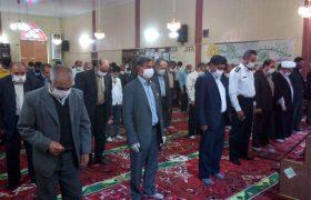 همزمان با عید سعید فطر در ایران اسلامی، نماز این عید در شهر ایلخچی برگزار شد.