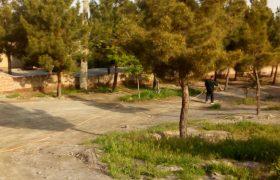 🔴سمپاشی علف های هرز فضای سبز شهری/🔔عزم شهرداری ایلخچی جهت ساماندهی و بهسازی فضاهای سبز