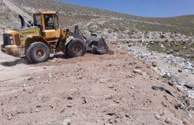 🔔تداوم عملیات بهسازی و ساماندهی محل دفن پسماندهای شهری در ایلخچی