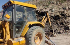 🔔پیشرفت چشمگیر طرح ساماندهی و بهسازی محل دفن پسماندهای شهری در ایلخچی