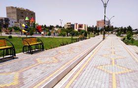 تداوم طرح بهسازی پارکها و بوستانهای سطح شهر ایلخچی