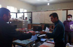 توزیع اقلام بهداشتی در بین پرسنل شهرداری ایلخچی