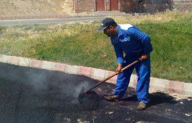 بهسازی پیاده روها و معابر خیابانهای شهید مطهری و خیام
