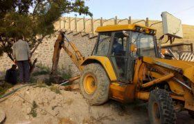 دفع بهداشتی پسابهای فاضلاب مجتمع مسکونی گلستان
