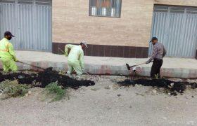 📣 تداوم عملیات پاکسازی و لایروبی کانالهای سطح شهر