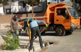 🛎 آماده سازی محل نصب تابلوهای شناسایی معابر سطح شهر ایلخچی