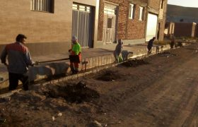 عملیات پاکسازی و لایروبی کانالهای سطح شهر